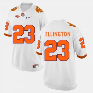 For Men Clemson National Championship #23 Andre Ellington White College Football Jersey 320753-824