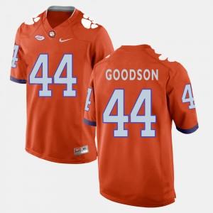 Mens Clemson National Championship #44 B.J. Goodson Orange College Football Jersey 897890-691