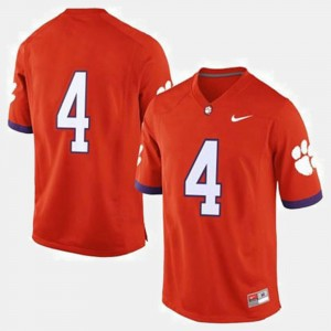 For Men CFP Champs #4 Orange College Football Jersey 981330-271