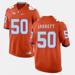 Men's CFP Champs #50 Grady Jarrett Orange College Football Jersey 974458-563