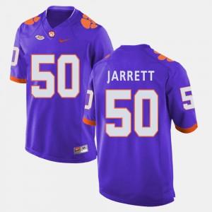 Mens CFP Champs #50 Grady Jarrett Purple College Football Jersey 194295-400