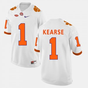 Men Clemson #1 Jayron Kearse White College Football Jersey 655582-516