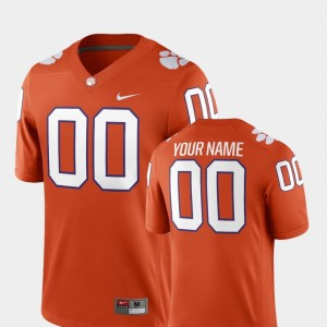 For Men's CFP Champs #00 Orange College Football 2018 Game Customized Jerseys 645109-602